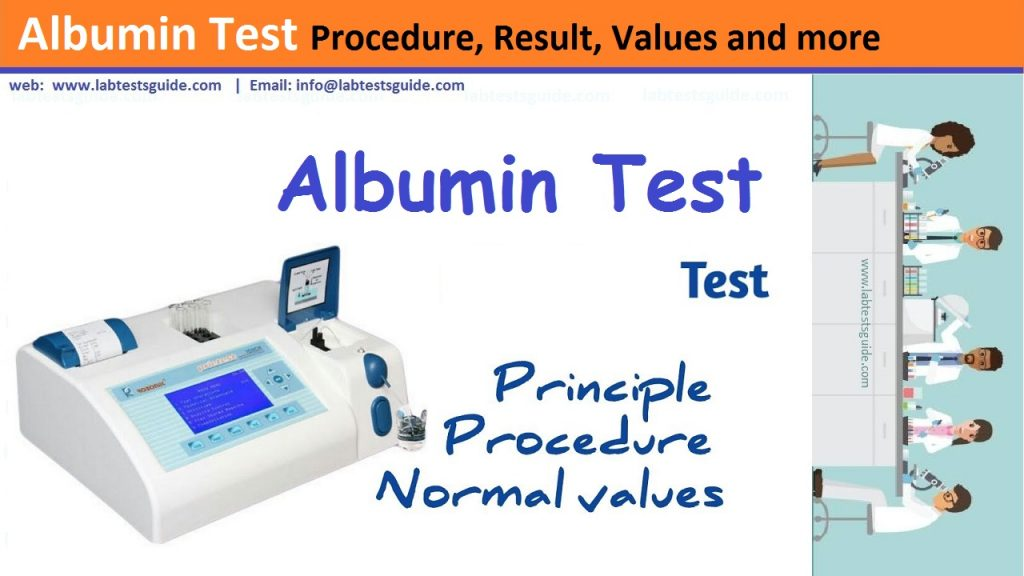 Albumin Test Procedure