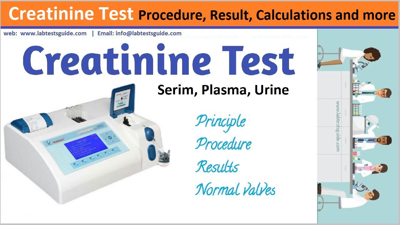 Creatinine Test Procedure