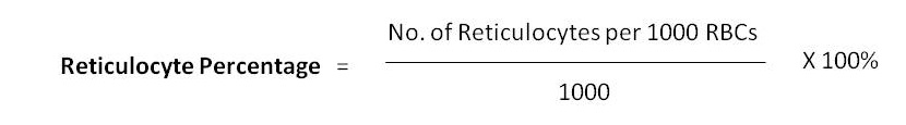 Retculocyte Percentage