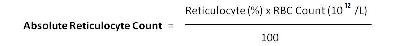 Absolute Reticulocyte Count