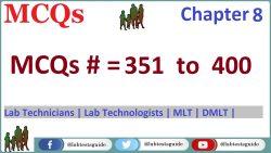 MCQs Chapter 8