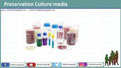 Preservation Culture media