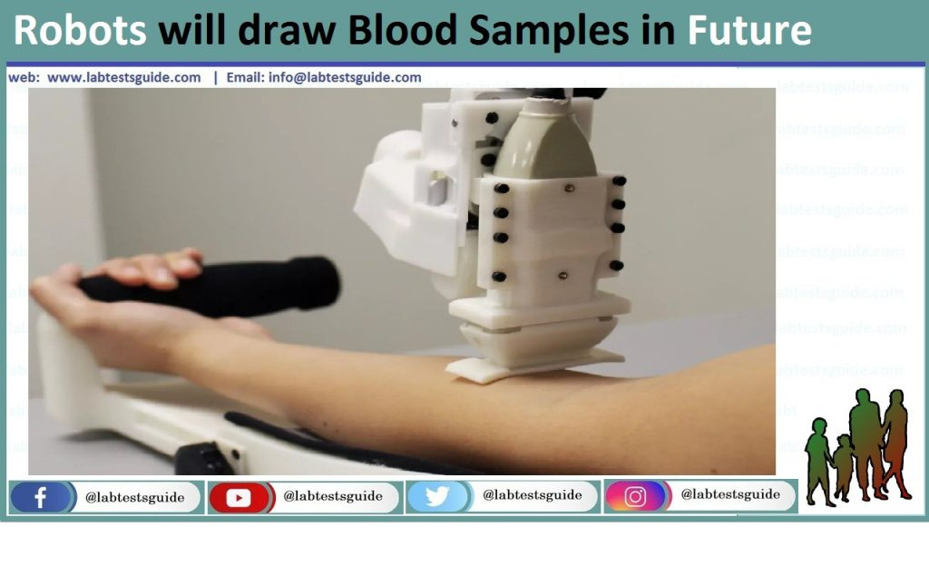 Robots will draw Blood Samples in Future