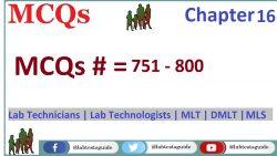 MCQs Chapter 16