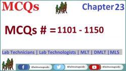 MCQs Chapter 23