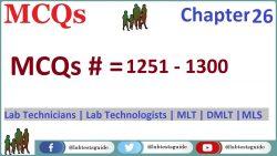 MCQS Chapter 26